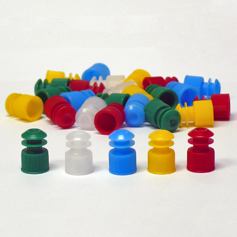 Test Tube Caps and Plug Stoppers