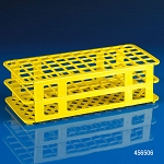 Rack, Tube, 16/17mm, 60-Place, PP, Yellow