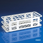 Rack, Tube, 20/21mm, 40-Place, PP, White