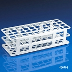 Rack, Tube, 25mm, 40-Place, PP, White