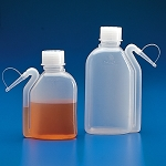 Wash Bottle, Squeeze with Integral Molded Dispensing Tip, Screwcap, PE, 250mL - Pack of 10
