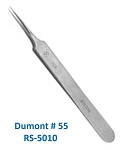 NO.55 DUMONT INOX THIN TIPS TIP SIZE .05 X .01M<br>BIOLOGIE TIPS