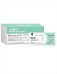 Nylon UNIFY® Suture, XL, Size 0, 36mm 1/2, Taper Pt, 30