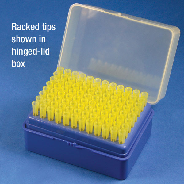 Pipette Tip, 100 - 1000uL, Universal, Graduated, Natural, 70mm, 200/Rack, 5  Racks/Stack Unit - Pack of 1000